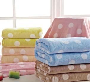 锦绣家居家纺 珊瑚绒床单毯 抗静电盖毯 毛巾被 暖身毯