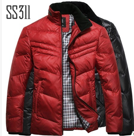 SS311新款男装羽绒服 短款修身男士羽绒服