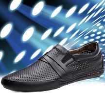 VIP特惠 夏凉鞋 男士凉皮鞋 洞洞鞋镂空网眼男鞋透气男士休闲鞋
