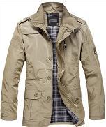随心索衣 男装新品 春款薄款休闲夹克外套 简约百搭 男 夹克衫
