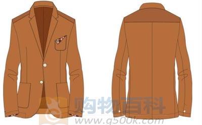 西服款式中被称为正装西服的西服通常有两种款式:单排扣西服和双排扣西服——购物百科